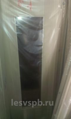 Дверь липовая со стеклом